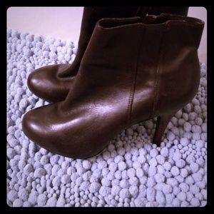 Nine West ♡ Ankle Boots Espresso Sz 7.5